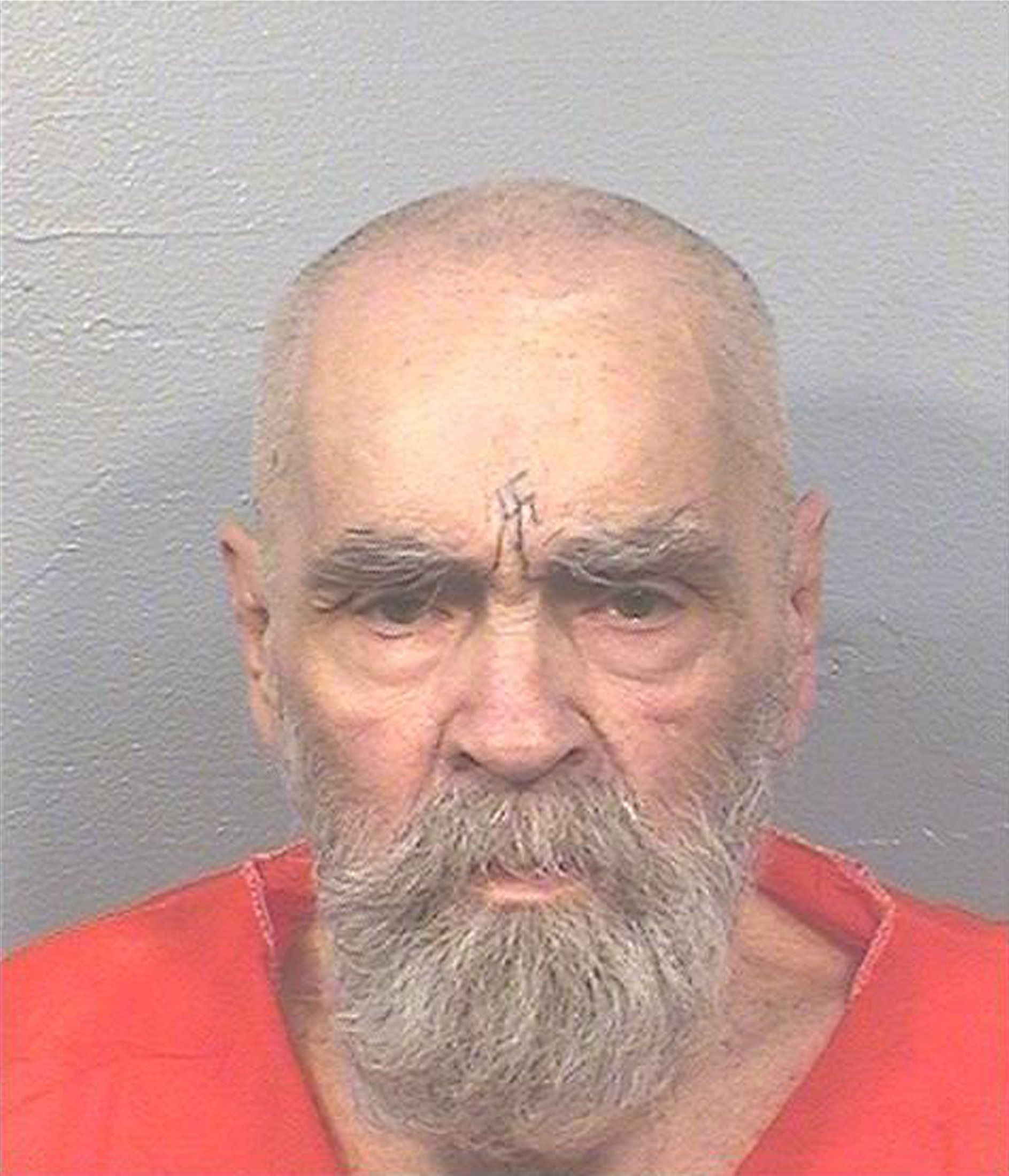 Cult leaderCharles Manson died of natural causes on Sunday, age 83; he is pictured above in August...