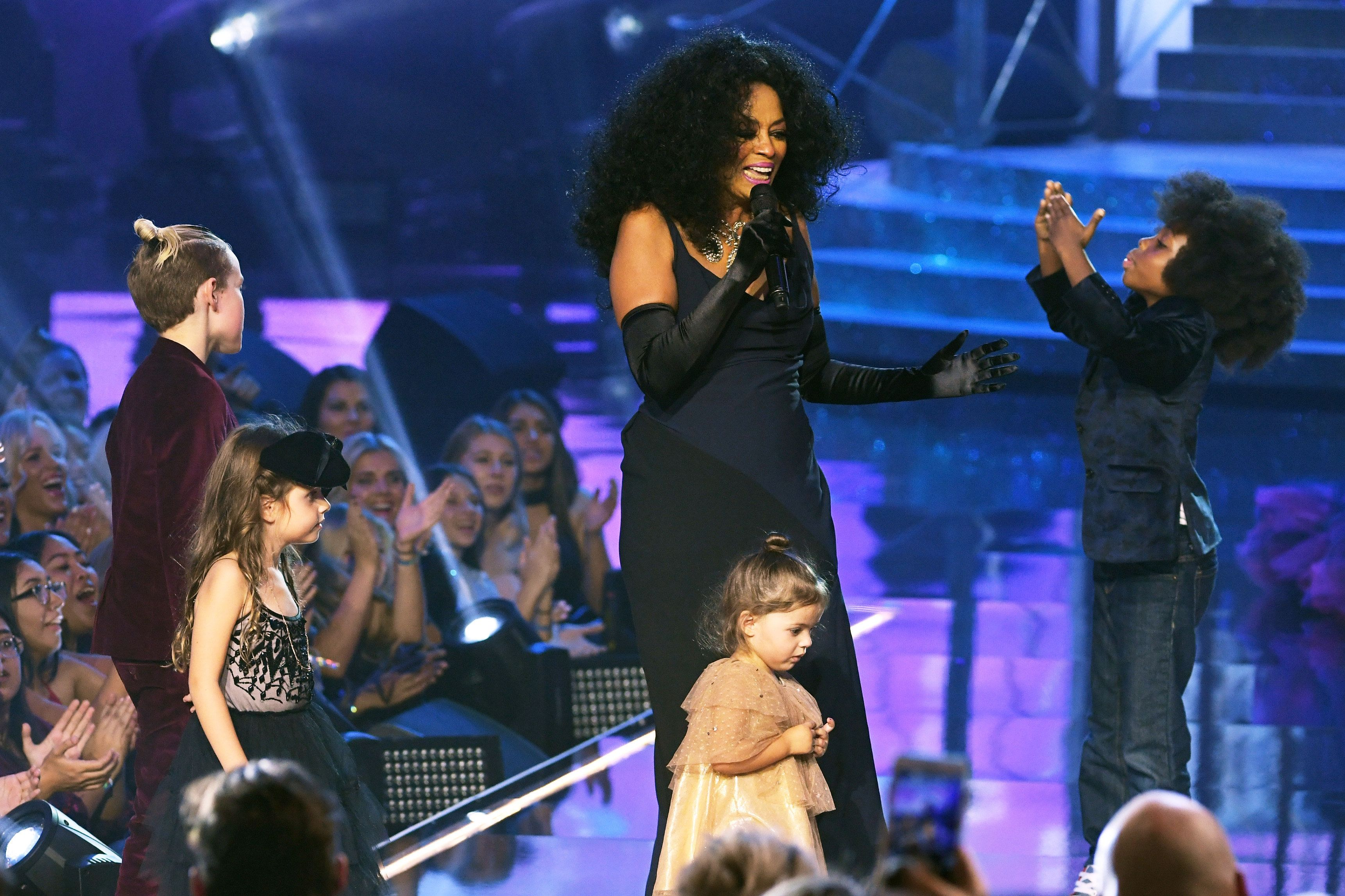 Diana Ross' Grandson Stole The Show During Her AMA