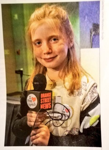 10-Year-Old Journalist With Her Own Newspaper Becomes Internet