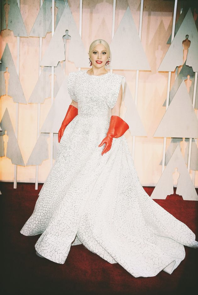 Lady Gaga attends the 87th Academy Awards on 22 February