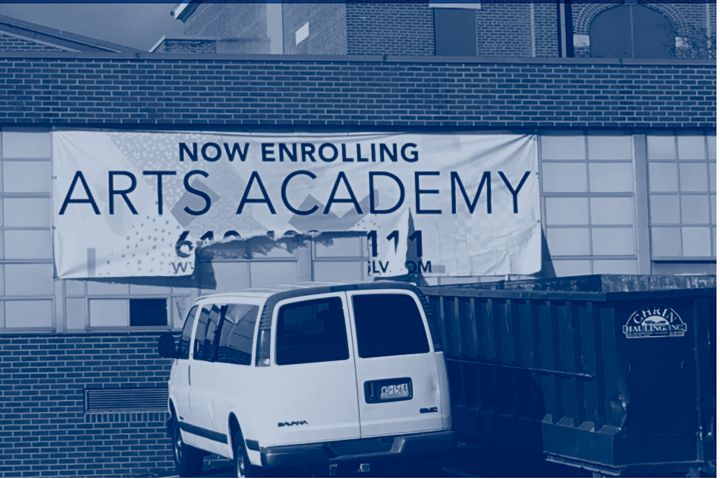 Six months into its first year of operation, Innovative Arts Academy Charter School in Catasauqua, Pennsylvania was forced to