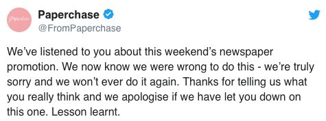 Paperchase Issues Extraordinary Apology After Daily Mail Promotion Sparks Backlash