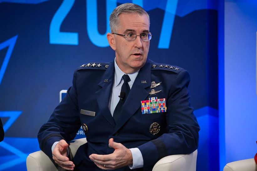 Air Force Gen. John Hyten, commander of the U.S. Strategic Command (STRATCOM)