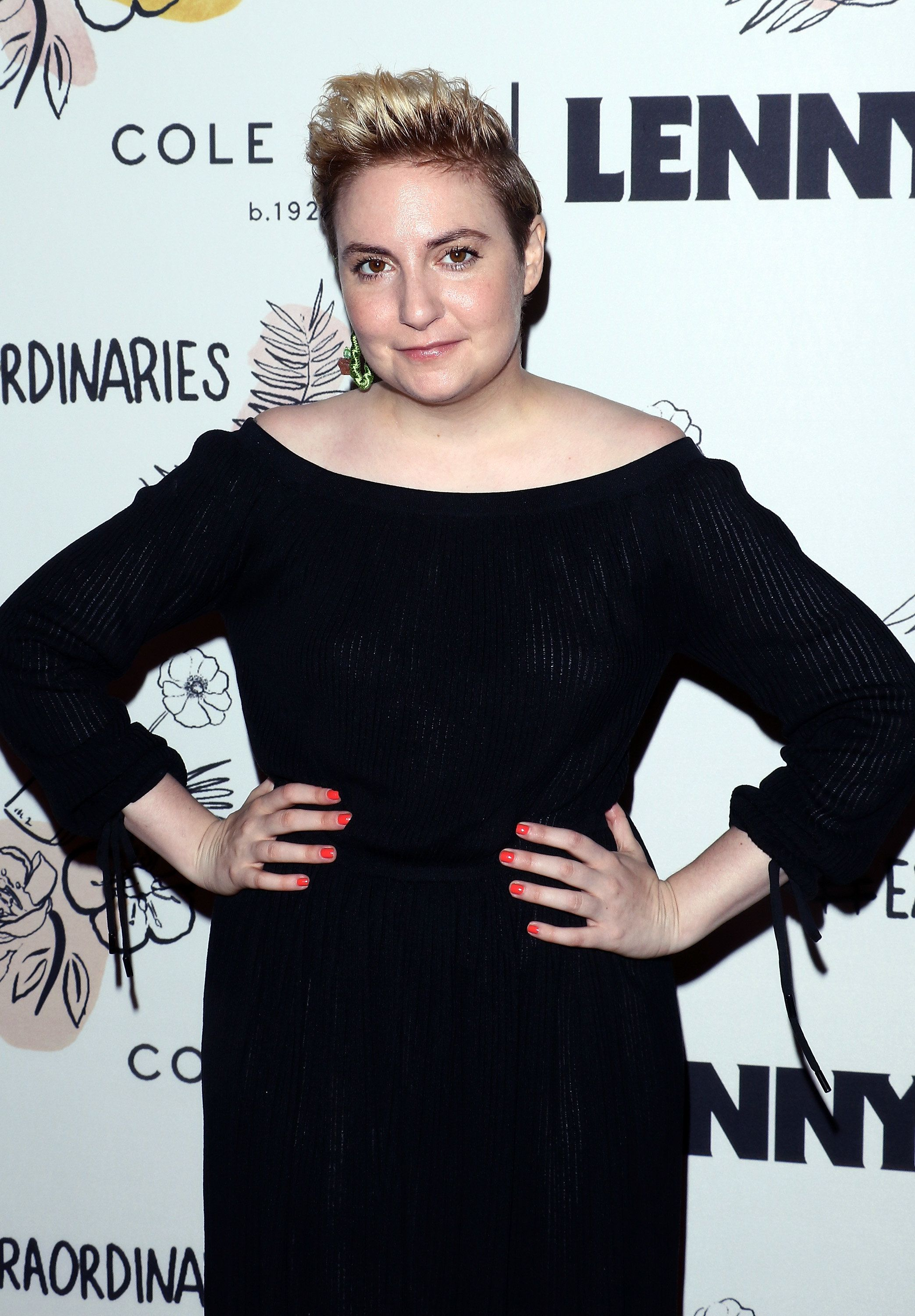 NEW YORK, NY - SEPTEMBER 15:  Actress Lena Dunham attends The 2nd Anniversary Party for Lenny, in partnership with Cole Haan at The Jane Hotel on September 15, 2017 in New York City.  (Photo by Jim Spellman/WireImage)