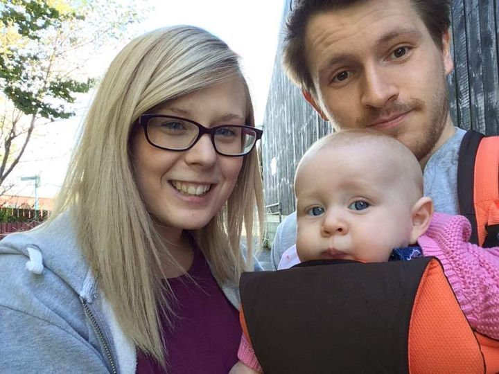 Myself, my wife and Isabelle