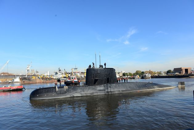 Noise debunked as coming from missing Argentinian submarine