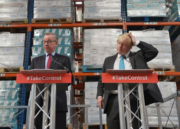 Michael Gove and Boris Johnson were the leaders of the Vote Leave