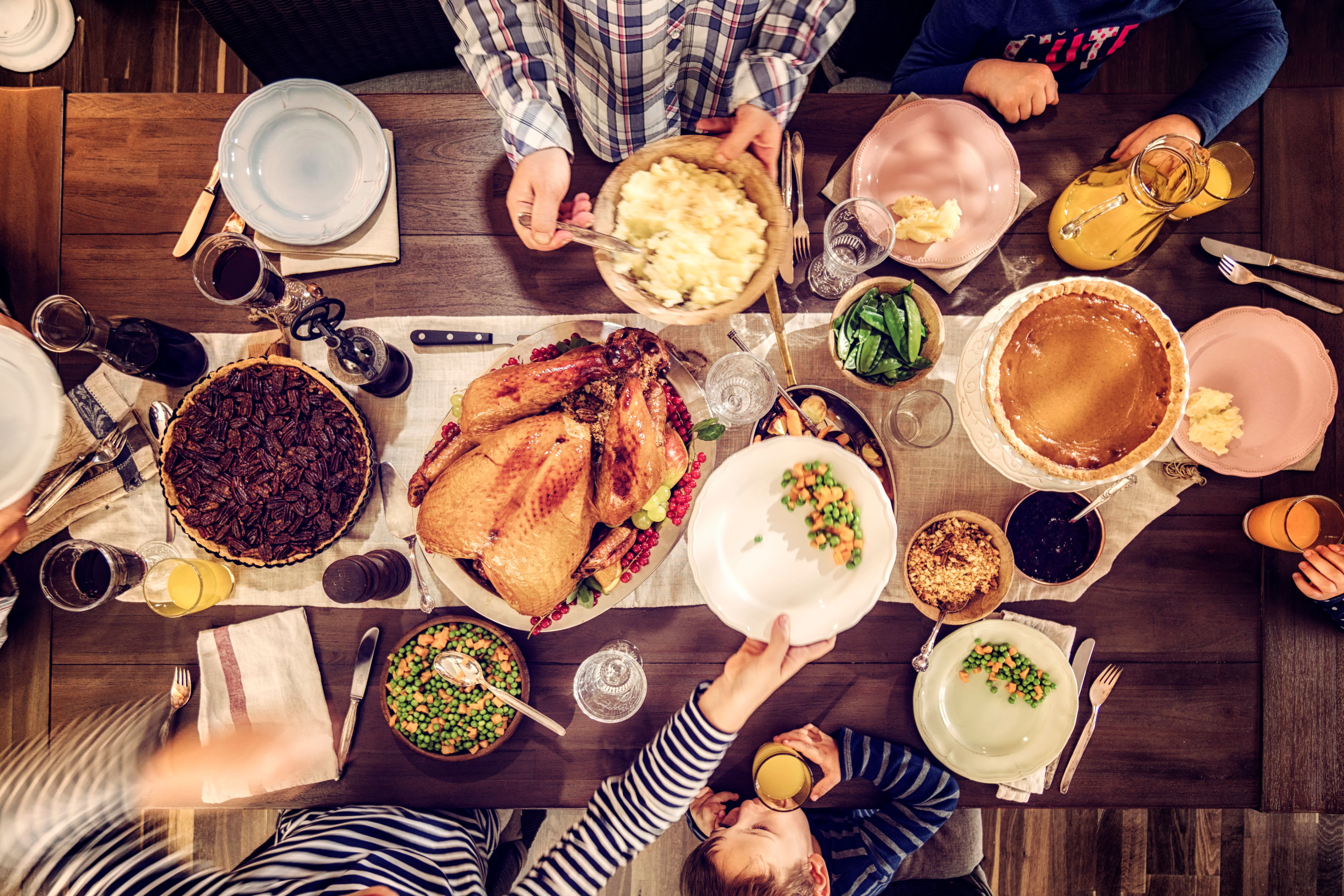 Thanksgiving traditions can vary by region.