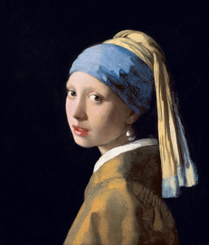 The ultramarine blue in Johannes Vermeer's famous <em>Girl with a Pearl Earring</em> was made from Afghan lapis.