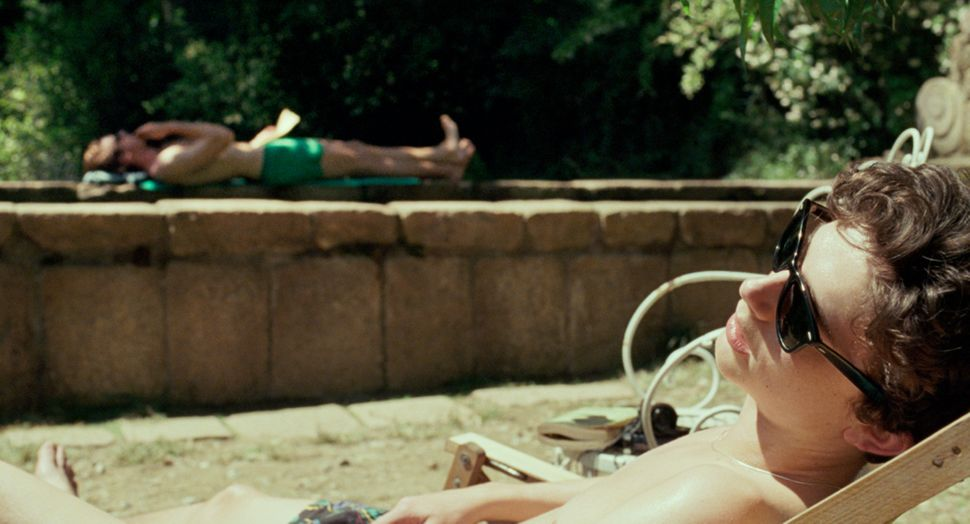 "Armie Hammer and Timothée Chalamet in ""Call Me by Your Name."""