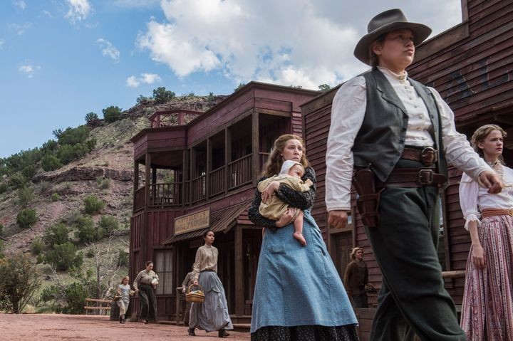 "Merritt Wever in ""Godless."""