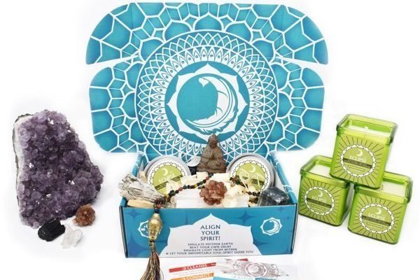 "Starts at $45/month. Each box includes 5 to 7 items like spirit crystals, aromatherapy, bath salts and other ""free spirit"" gi"
