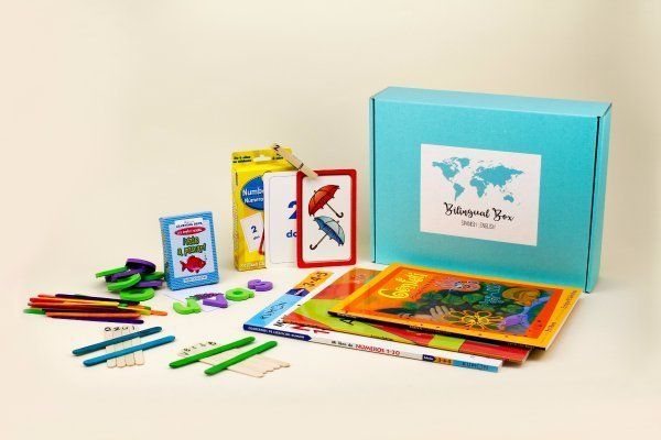 Starts at $40/month. Each box is packed with learning materials in Spanish and English, and includes 4 to 6 educational mater