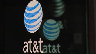 An AT&T logo is seen at a AT&T building in New York City, October 23, 2016. REUTERS/Stephanie Keith