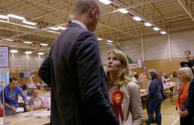 Helle Thorning-Schmidt Schooling Husband Stephen Kinnock Lights Up Labour Election Documentary
