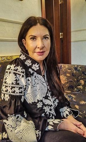 Artist Marina Abramović