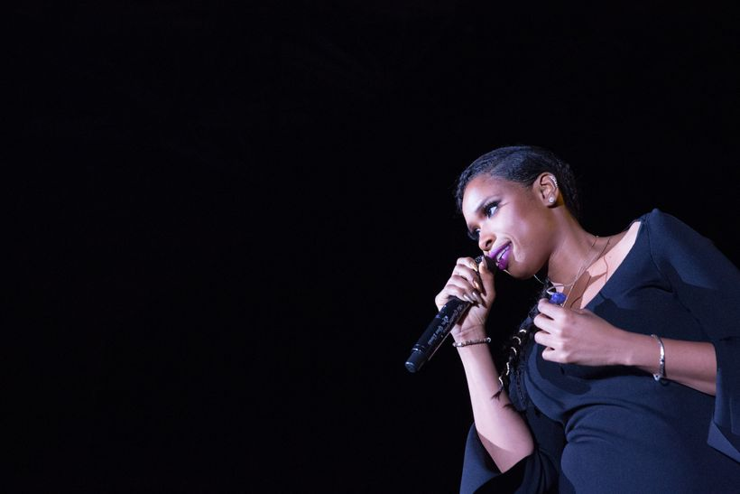 Jennifer Hudson at the Marriott Marquis Chicago.