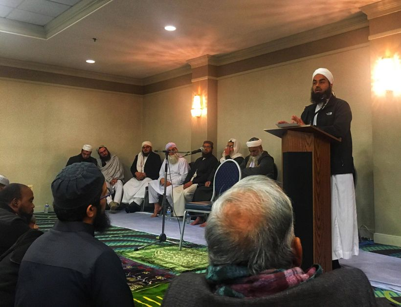 Mr. Hussain also urged American Muslims not to work with the Ahmadis on any forum, even if it be a matter of defending Islam