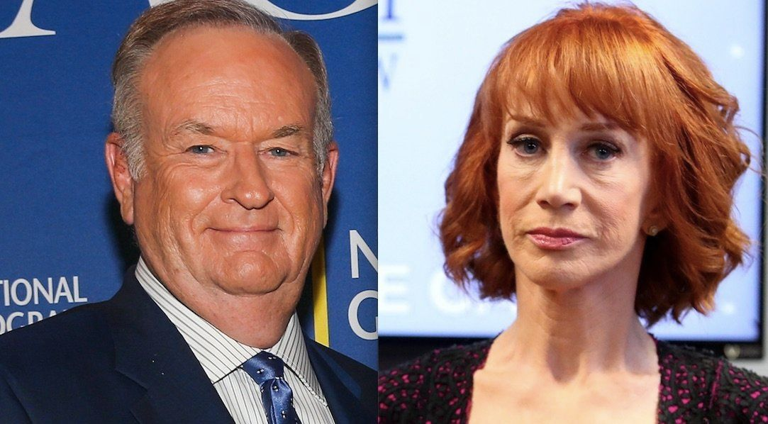 Bill OReilly and Kathy Griffin