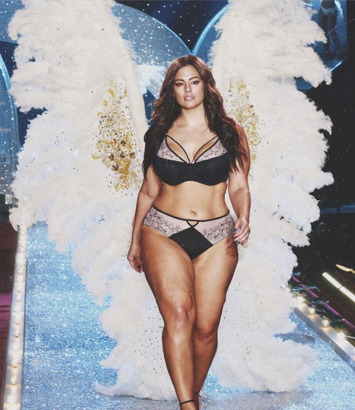 Ashley Graham Throws Shade At Victoria's Secret For Lack Of Curve