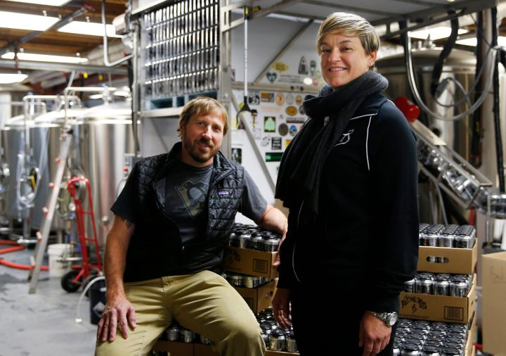 Alchemist brewery owners John and Jen Kimmich