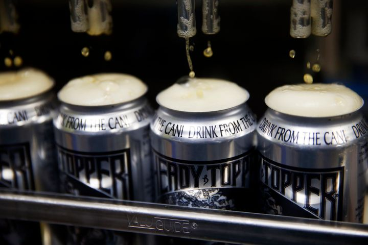 Cans of Heady Topper
