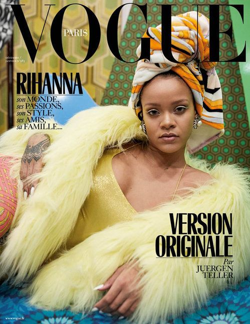 Rihanna is a triple threat on three different covers of vogue paris juergen teller for vogue paris ccuart Image collections