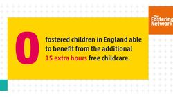 Fostered Children Discriminated Against By Unjust 15 Hours Free Childcare