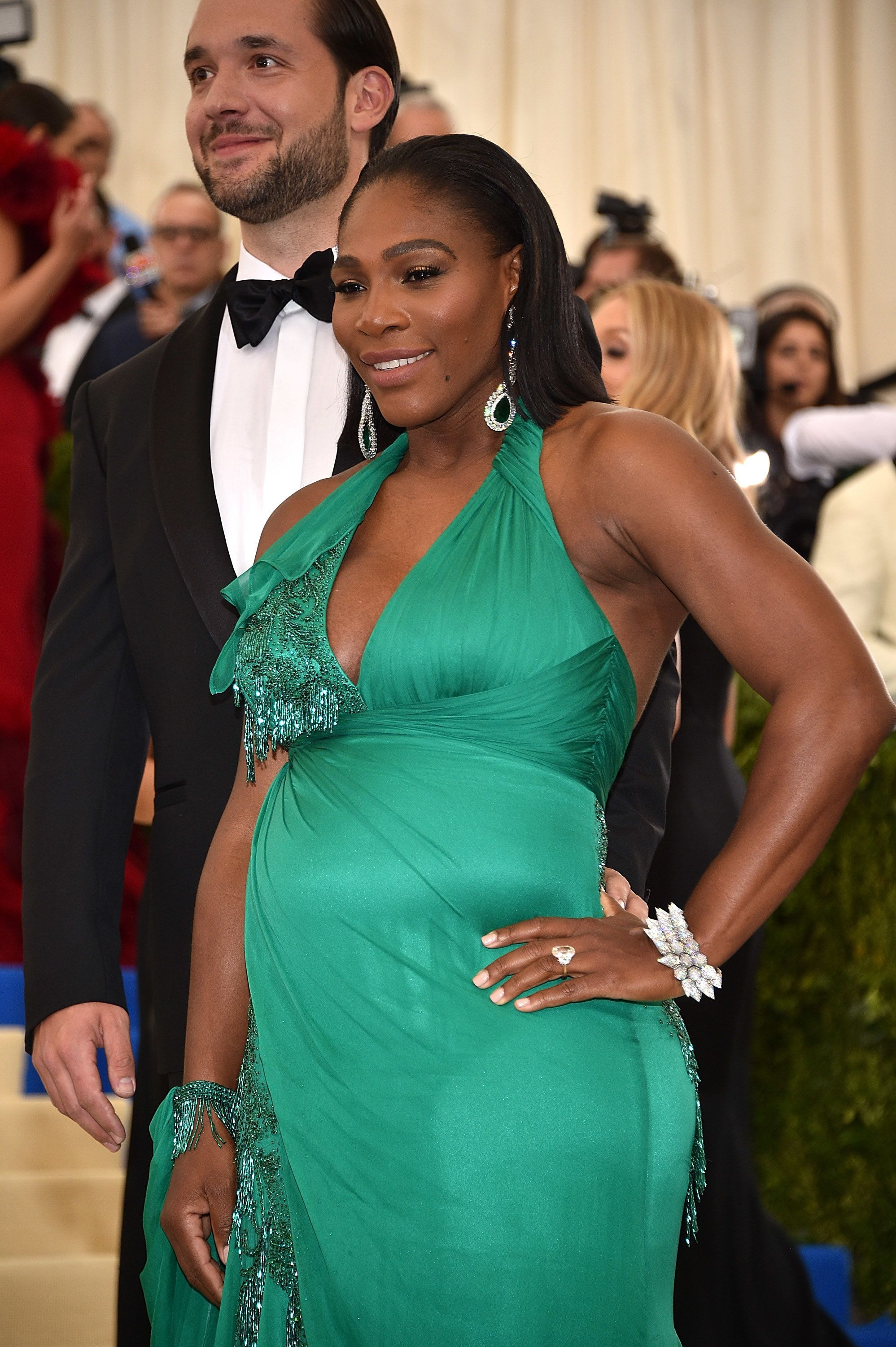 NEW YORK, NY - MAY 01:  Serena Williams attends the 'Rei Kawakubo/Comme des Garcons: Art Of The In-Between' Costume Institute Gala at Metropolitan Museum of Art on May 1, 2017 in New York City.  (Photo by Kevin Mazur/WireImage)