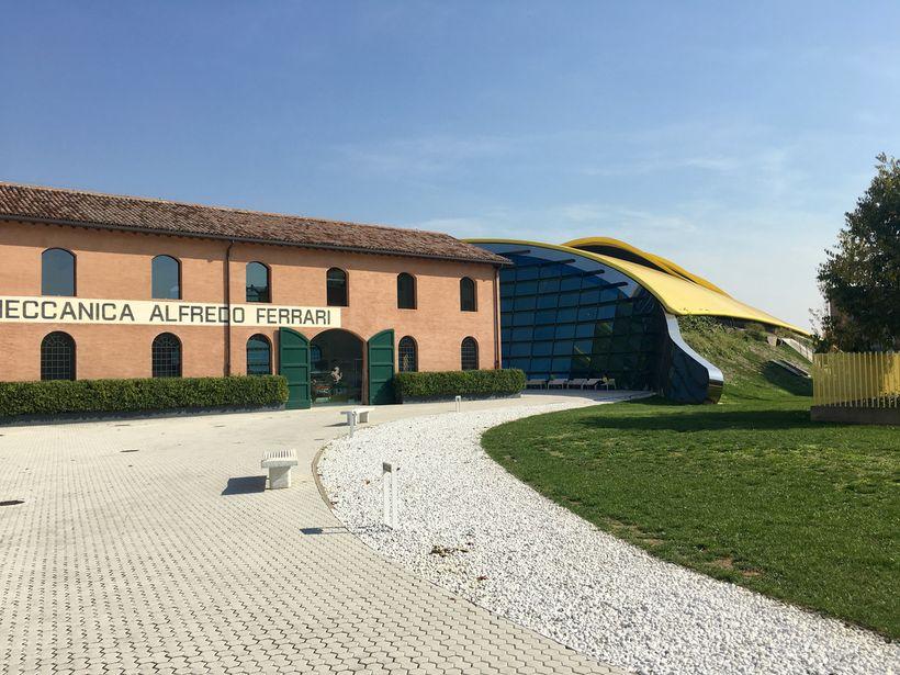 The Enzo Ferrari Museum, Modena