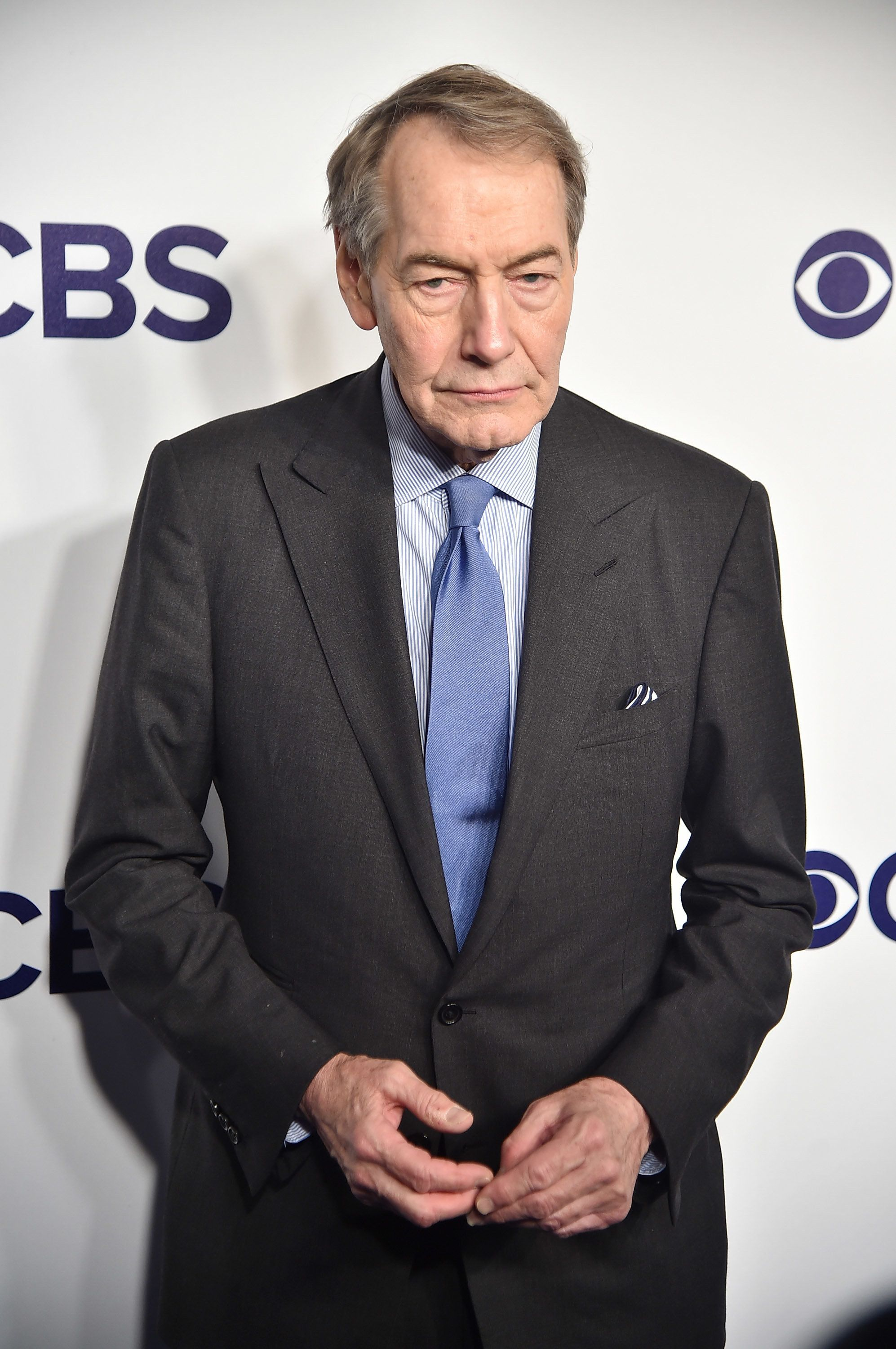 NEW YORK, NY - MAY 17:  Charlie Rose attends the 2017 CBS Upfront on May 17, 2017 in New York City.  (Photo by Theo Wargo/Getty Images)