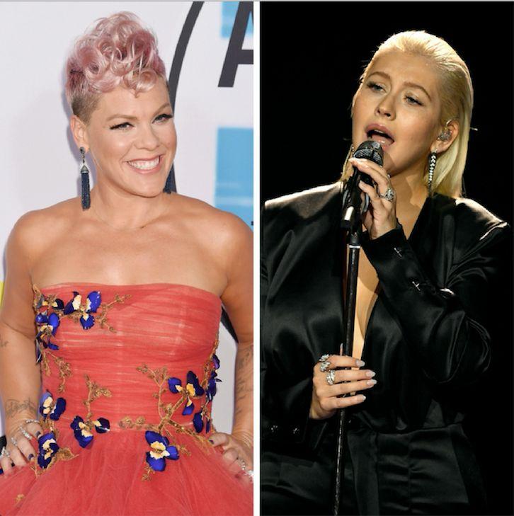 Pink Hits Back At Claim She Was Shading Christina