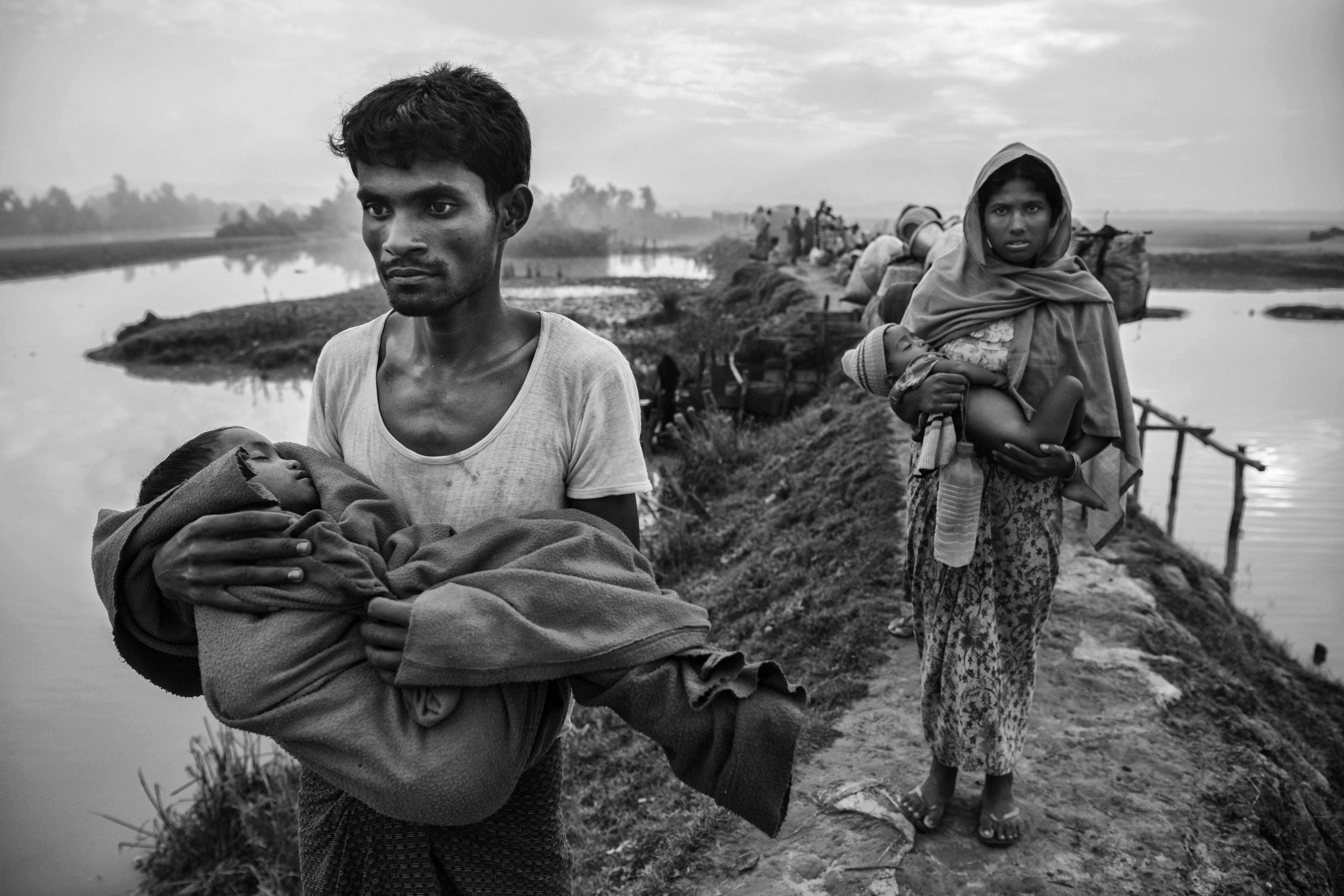 Apartheid In Myanmar Rohingya Muslims Trapped In Open Air Prison Amnesty Says Huffpost