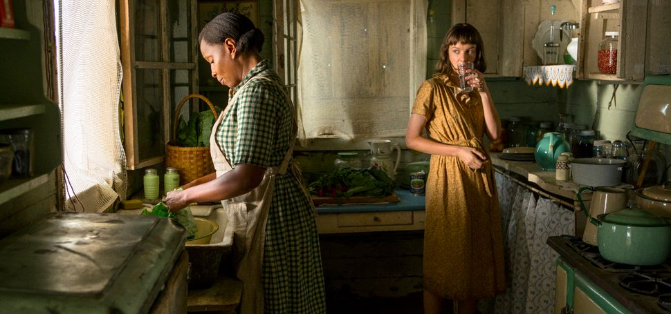 "Mary J. Blige and Carey Mulligan star in ""Mudbound."""