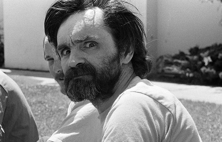 Charles Manson pictured at California Medical Facility in August 1980.