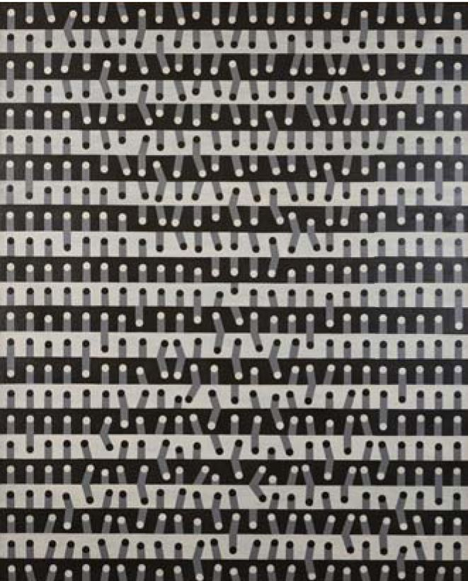 Tatsuo Kawaguchi, <em>Work 65-32</em> (1965), (photo courtesy of Kanaz Forest of Creation)