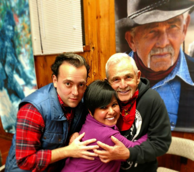 Clayton Ballard, Carla Moreno, and Bob Gimlin reunite!