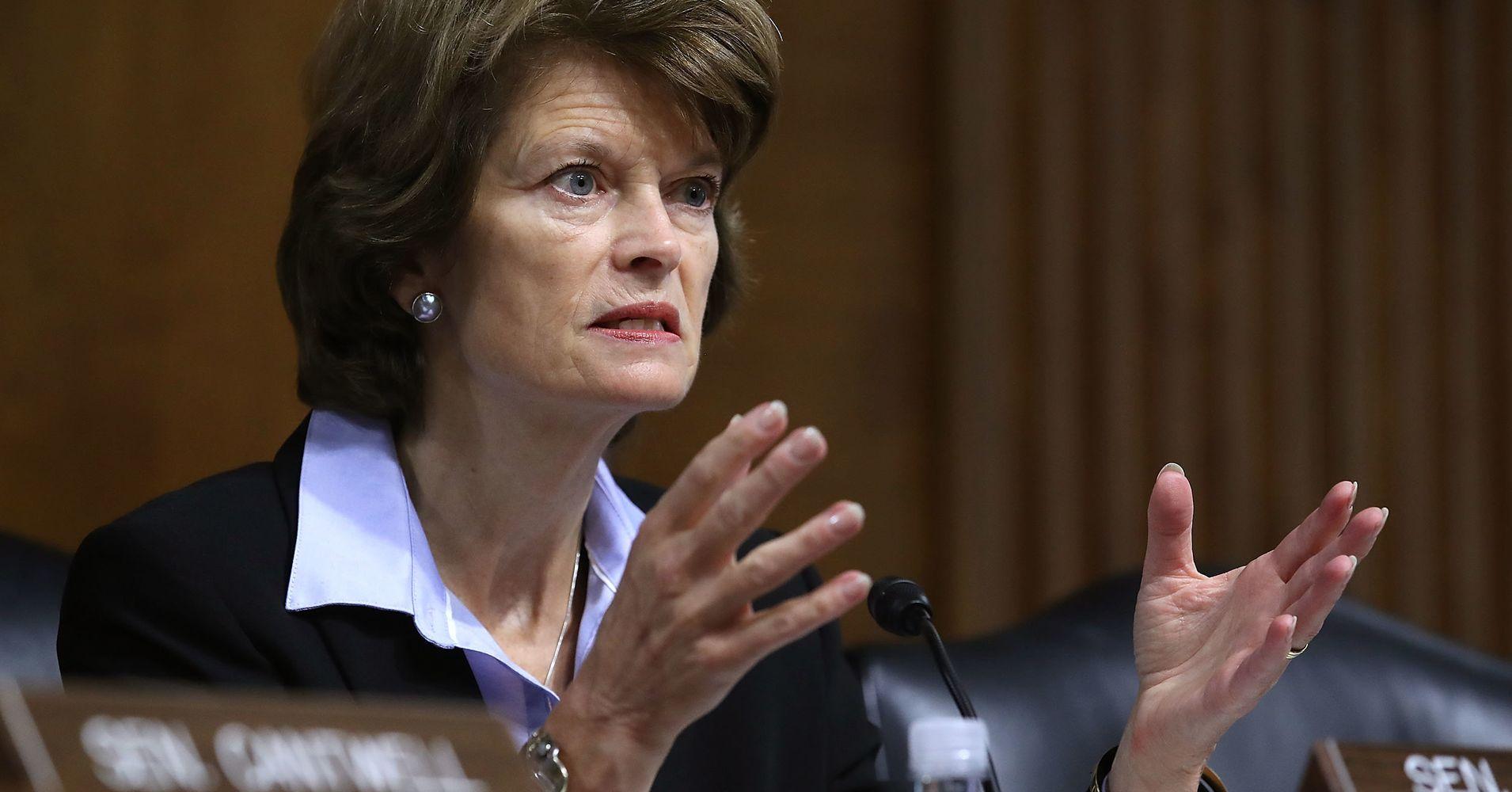 Lisa Murkowski Says She's OK With Killing The Health Insurance Mandate