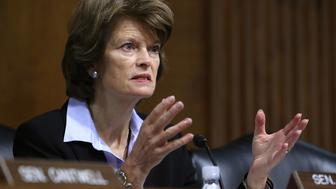 WASHINGTON, DC - NOVEMBER 14:  Chairman Lisa Murkowski (R-AK) speaks during a Senate Energy and Natural Resources Committee hearing on hurricane recovery efforts in Puerto Rico and the US Virgin Islands, on Capitol Hill November 14, 2017 in Washington, DC.  (Photo by Mark Wilson/Getty Images)