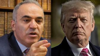 Garry Kasparov and Donald Trump