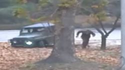 The Extraordinary Moment A North Korean Soldier Defects To South Korea Under Gunfire