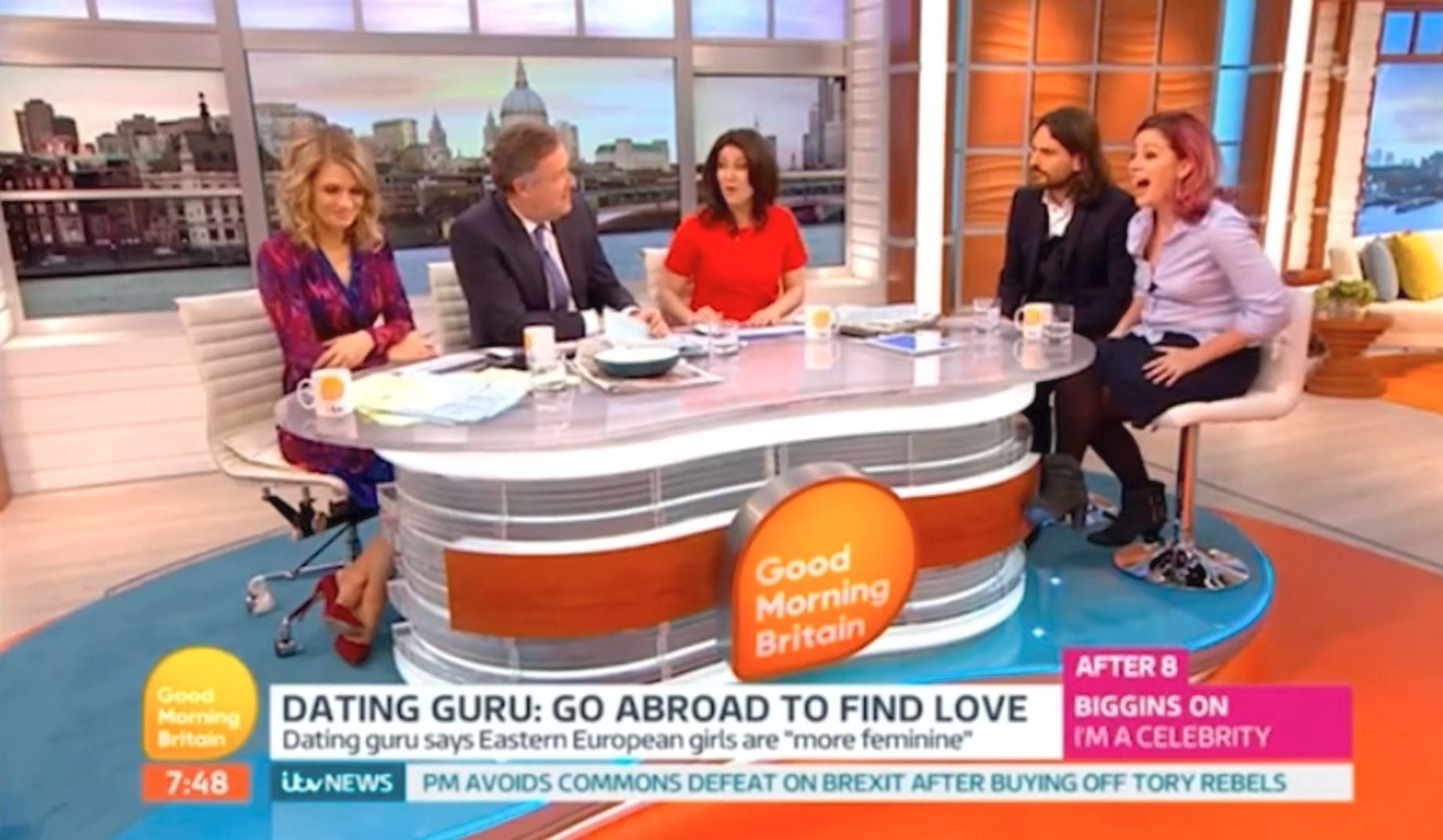 Piers Morgan Brands 'Good Morning Britain' Guest 'A D***' Live On