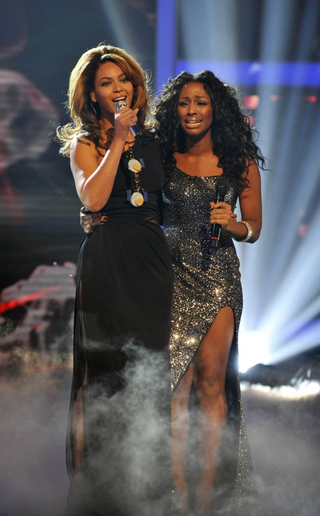 Alexandra dueted with Beyoncé in the 2008 'X Factor'