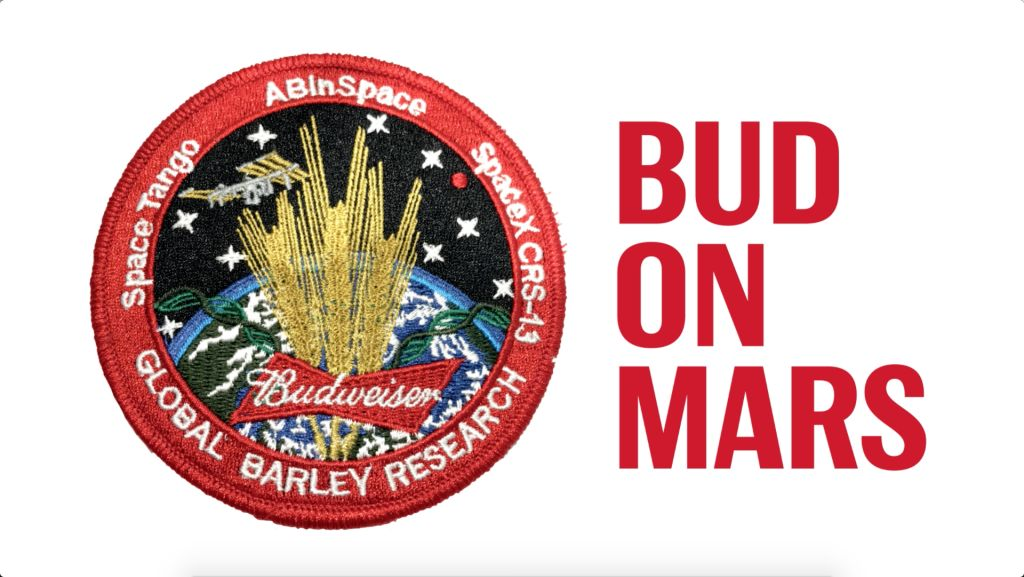Budweiser is Serious About Making Beer in Space