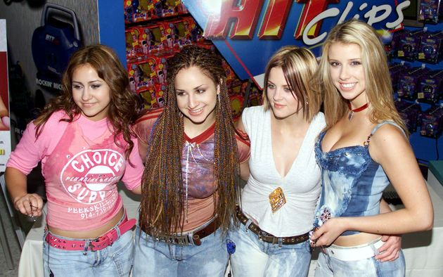 Schuman (far right) with other members of the music group Dream in New York in