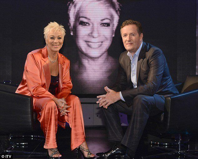 Denise Welch Lays Into Piers Morgan Over His Stance On Mental Health
