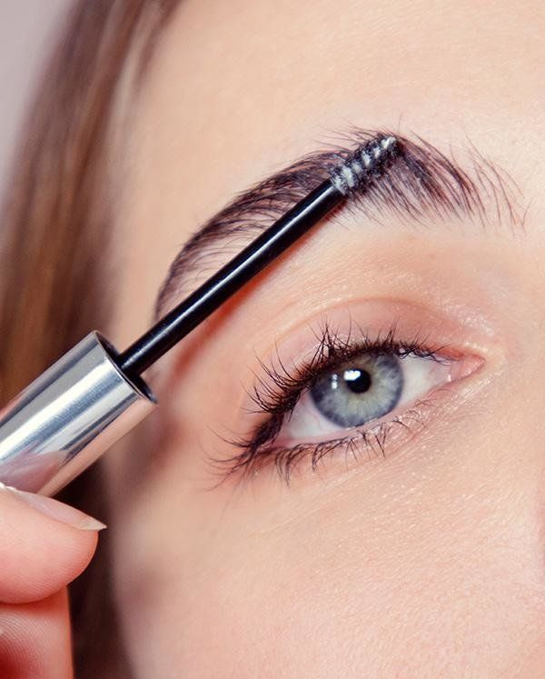 "This one formula grooms, thickens and fills in brows to give them a fuller, fluffier and more shaped look. Get it <a href=""ht"