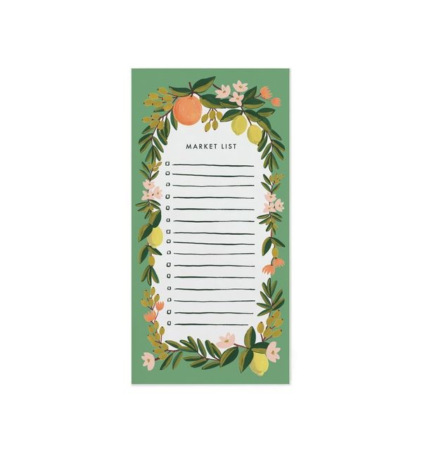 It's so cute, what's not to love? This little magnetic market list is the kitchen essential you didn't know you were missing.