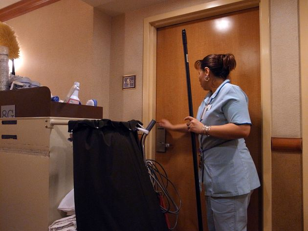 Why The Hotel Industry Is Fighting Proposals To Give Housekeepers Panic