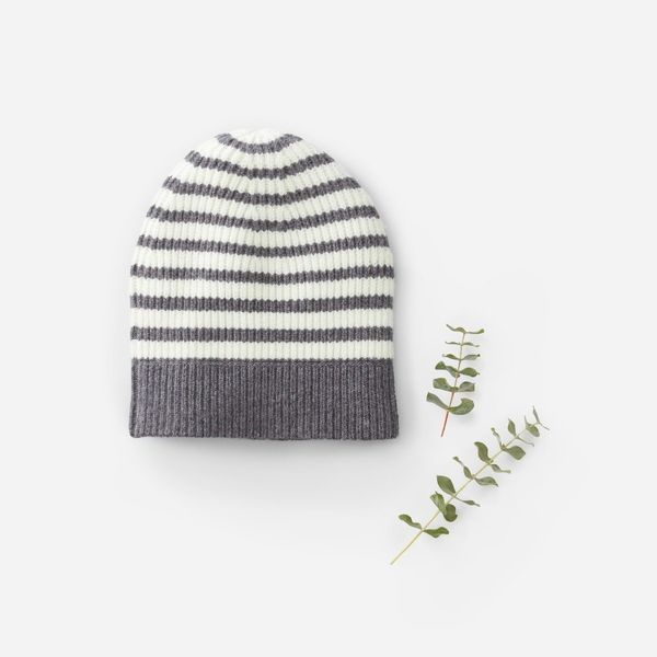 "There's nothing better than <a href=""https://www.everlane.com/products/womens-cashmere-beanie-charcoal-ivory?collection=women"